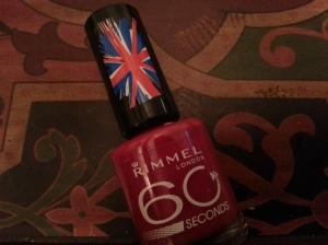 Rimmel 60 seconds