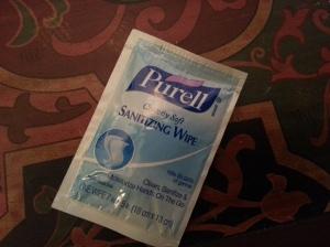 Purell Cottony Soft Sanitizing Wipe